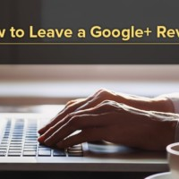 how to leave a google+ review